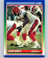 1990 Score #32 Leon White Bengals NFL Football