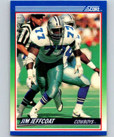 1990 Score #33 Jim Jeffcoat Cowboys NFL Football