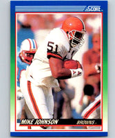 1990 Score #35 Mike Johnson Browns NFL Football
