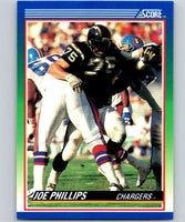 1990 Score #36 Joe Phillips RC Rookie Chargers NFL Football