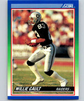 1990 Score #37 Willie Gault LA Raiders NFL Football