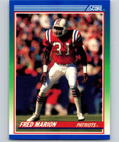 1990 Score #39 Fred Marion Patriots NFL Football