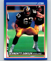 1990 Score #41 Dermontti Dawson Steelers NFL Football