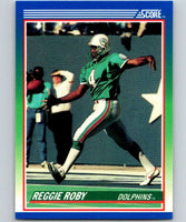 1990 Score #43 Reggie Roby Dolphins NFL Football