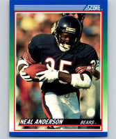 1990 Score #47 Neal Anderson Bears NFL Football