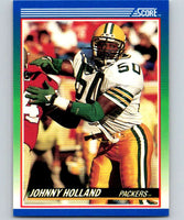 1990 Score #48 Johnny Holland Packers NFL Football