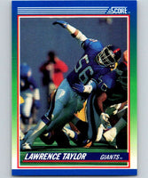 1990 Score #50 Lawrence Taylor NY Giants NFL Football
