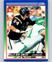 1990 Score #51 Billy Ray Smith Chargers NFL Football