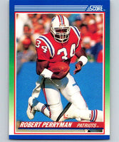 1990 Score #52 Robert Perryman Patriots NFL Football