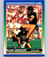 1990 Score #53 Gary Anderson Steelers NFL Football