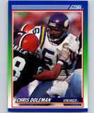 1990 Score #56 Chris Doleman Vikings NFL Football