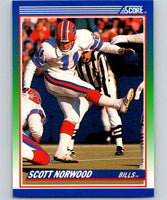 1990 Score #63 Scott Norwood Bills NFL Football