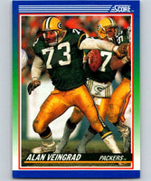 1990 Score #65 Alan Veingrad Packers NFL Football