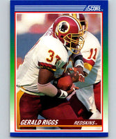 1990 Score #66 Gerald Riggs Redskins NFL Football