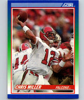 1990 Score #70 Chris Miller Falcons NFL Football
