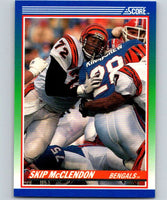 1990 Score #72 Skip McClendon RC Rookie Bengals NFL Football