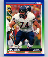 1990 Score #73 Jim Covert Bears NFL Football