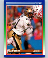 1990 Score #74 Sam Mills Saints NFL Football