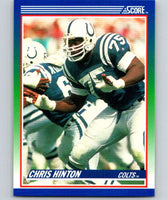 1990 Score #75 Chris Hinton Colts NFL Football
