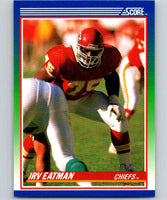 1990 Score #76 Irv Eatman Chiefs NFL Football
