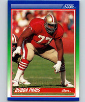 1990 Score #77 Bubba Paris 49ers NFL Football