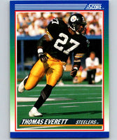 1990 Score #79 Thomas Everett Steelers NFL Football