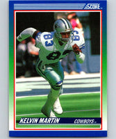 1990 Score #82 Kelvin Martin RC Rookie Cowboys NFL Football