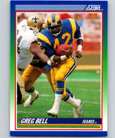 1990 Score #89 Greg Bell LA Rams NFL Football