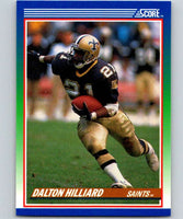 1990 Score #90 Dalton Hilliard Saints NFL Football