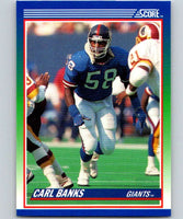 1990 Score #91 Carl Banks NY Giants NFL Football