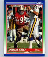 1990 Score #94 Charles Haley 49ers NFL Football