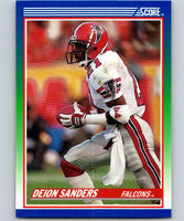 1990 Score #95 Deion Sanders Falcons NFL Football