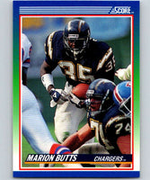 1990 Score #97 Marion Butts Chargers NFL Football