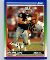 1990 Score #98 Howie Long LA Raiders NFL Football