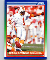 1990 Score #99 Donald Igwebuike Buccaneers NFL Football
