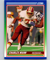 1990 Score #101 Charles Mann Redskins NFL Football