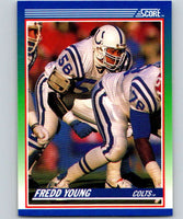 1990 Score #102 Fredd Young Colts NFL Football