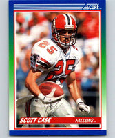 1990 Score #104 Scott Case Falcons NFL Football