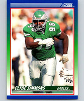 1990 Score #106 Clyde Simmons Eagles NFL Football