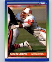 1990 Score #109 Eugene Marve Buccaneers NFL Football