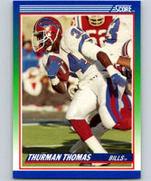 1990 Score #110 Thurman Thomas Bills NFL Football