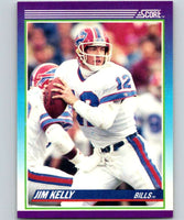 1990 Score #112 Jim Kelly Bills NFL Football