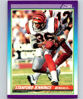 1990 Score #113 Stanford Jennings Bengals NFL Football
