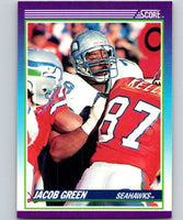 1990 Score #114 Jacob Green Seahawks NFL Football
