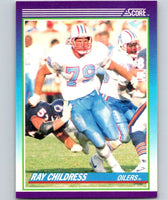 1990 Score #116 Ray Childress Oilers NFL Football