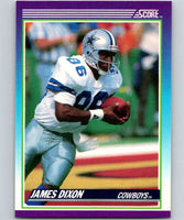 1990 Score #119 James Dixon RC Rookie Cowboys NFL Football
