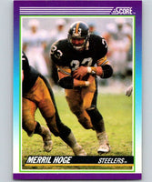 1990 Score #123 Merril Hoge Steelers NFL Football