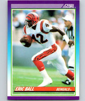1990 Score #124 Eric Ball Bengals NFL Football