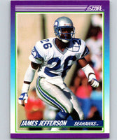 1990 Score #126 James Jefferson Seahawks NFL Football