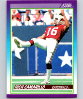 1990 Score #132 Rich Camarillo Cardinals NFL Football